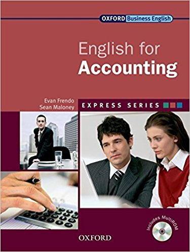 کتاب انگلیسی آکسفرود به همراه فایل صوتی English for Accounting oxford